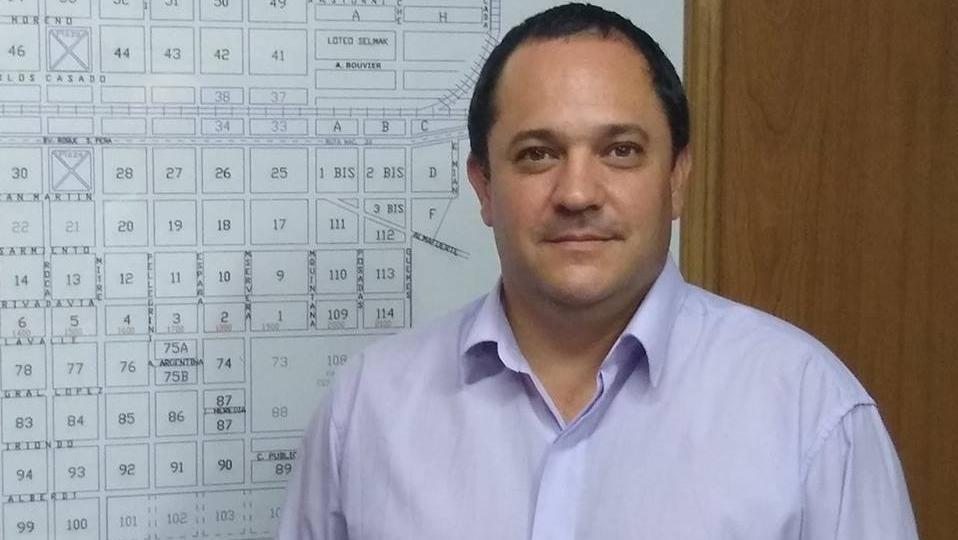 Lucas Lesgart, presidente comunal de Chabás.