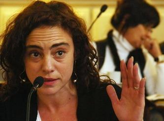 Diputada Mónica Peralta, una de las impulsoras de la iniciativa parlamentaria.