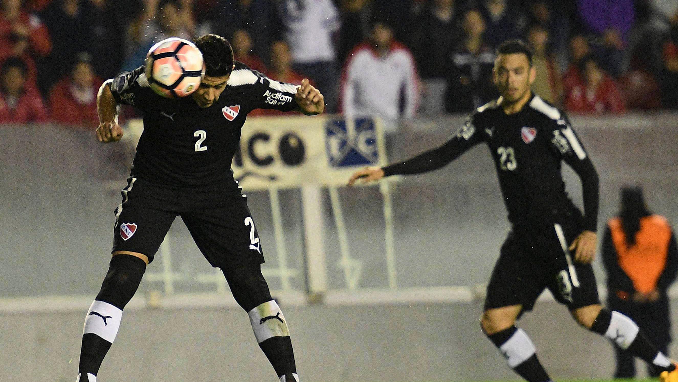 Alan Franco, jugador de Independiente, que este martes dio positivo en Covid-19