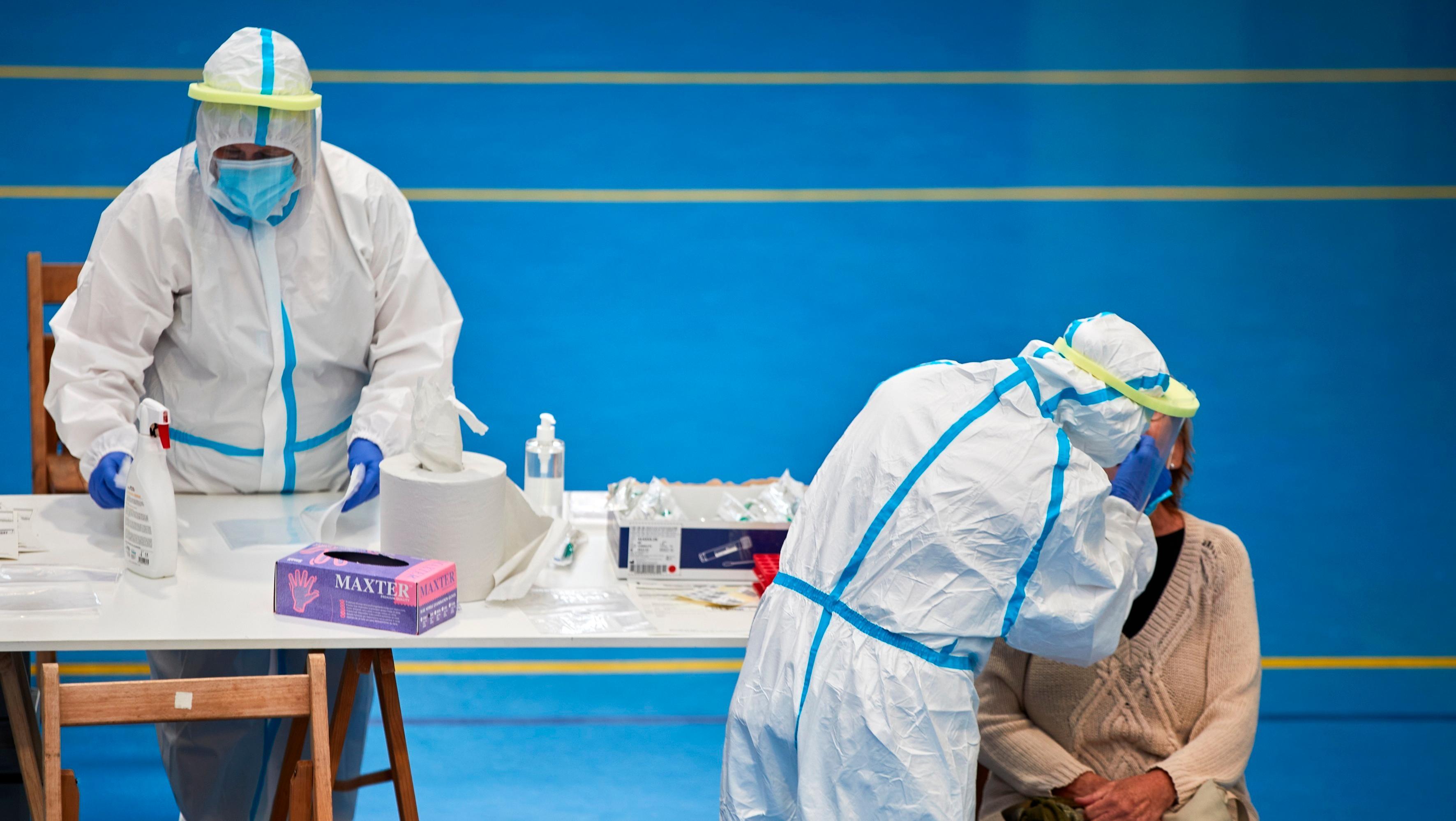 España seguía siendo el país europeo con mayor cantidad acumulada de infecciones.
