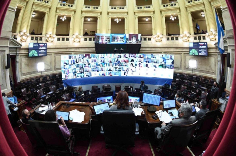 El oficialismo avaló el DNU, y Juntos x el Cambio votó en contra.