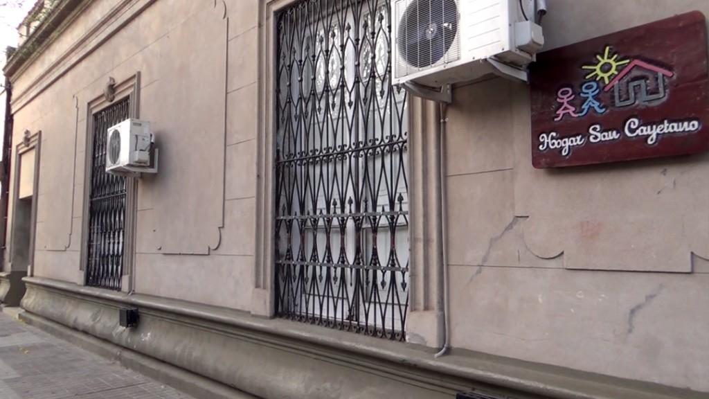 El hogarcito San Cayetano fue beneficiado.