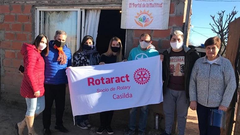 La semana pasada, Rotaract Club visitó seis merenderos.