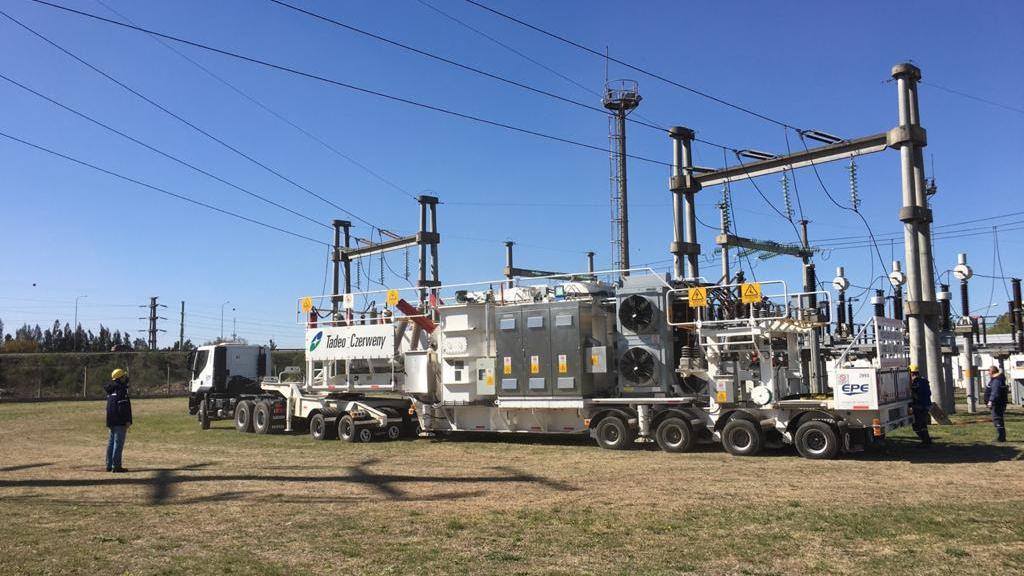 La estación es una unidad compacta y autónoma compuesta por un grupo de equipos eléctricos.