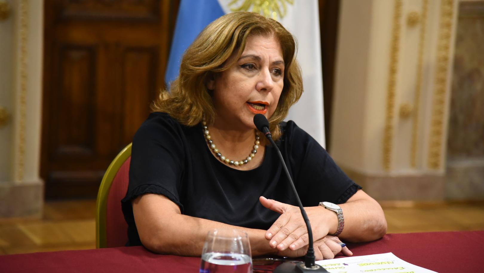 Sonia Martorano, la ministra de Salud.