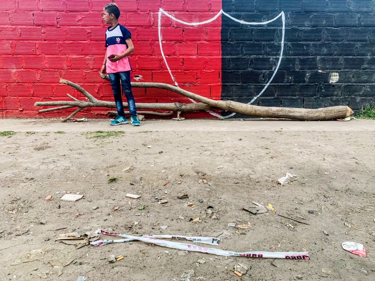 La víctima fue hallada en Gaboto al 4900. (Foto: Rosario Plus)