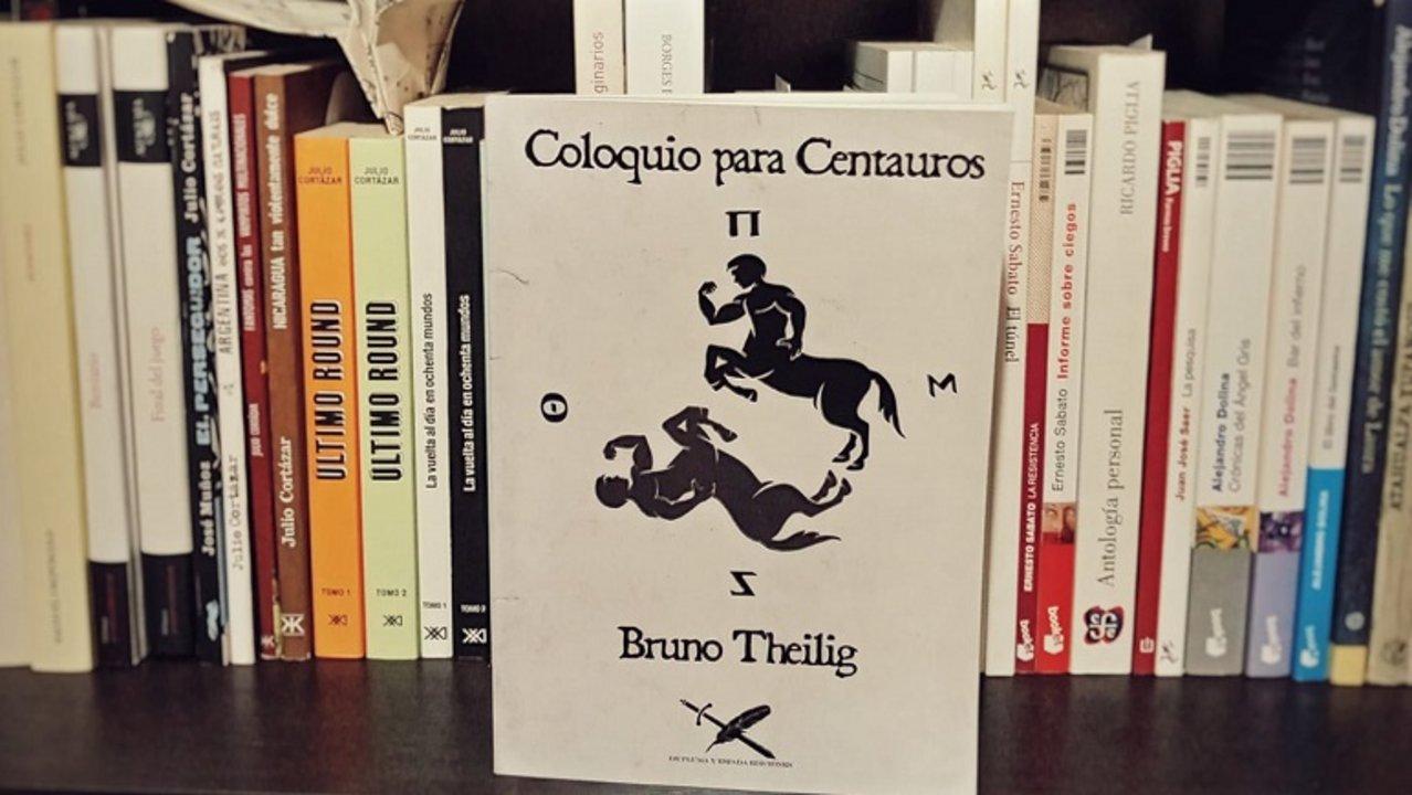 El nuevo libro de Bruno Thelig.