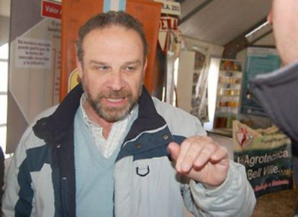 Juan Luis Uccelli, referente del sector porcino.