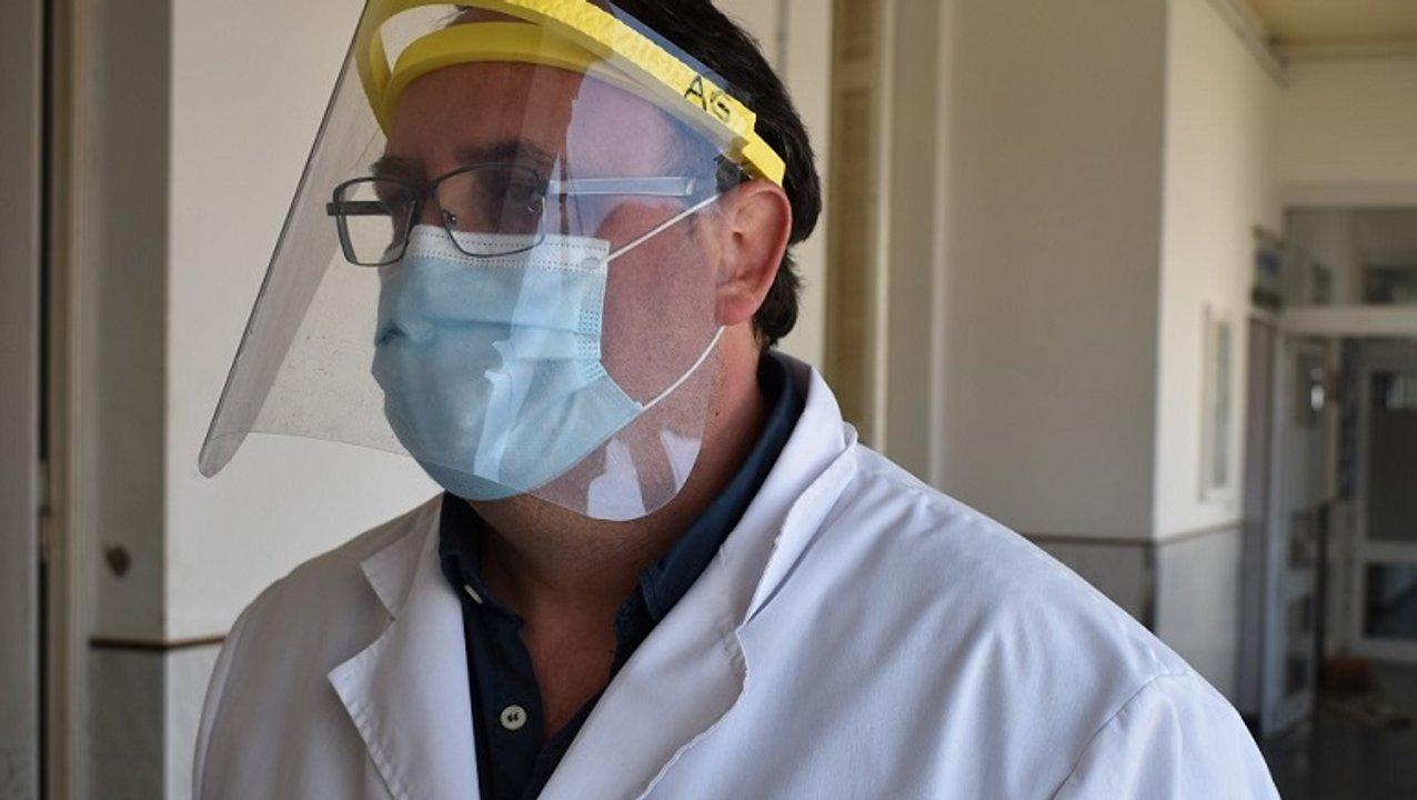 El doctor Adrián Guerrera, vicedirector del Hospital San Carlos