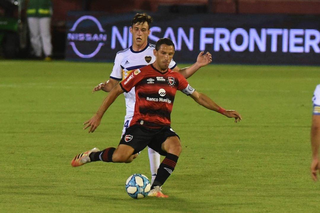 Maxi se desdibujó como todo el equipo después del primer gol.