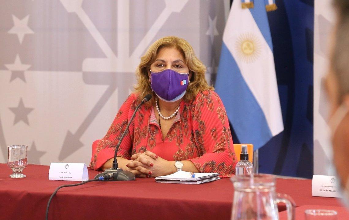 La ministra de Salud de Santa Fe, Sonia Martorano.