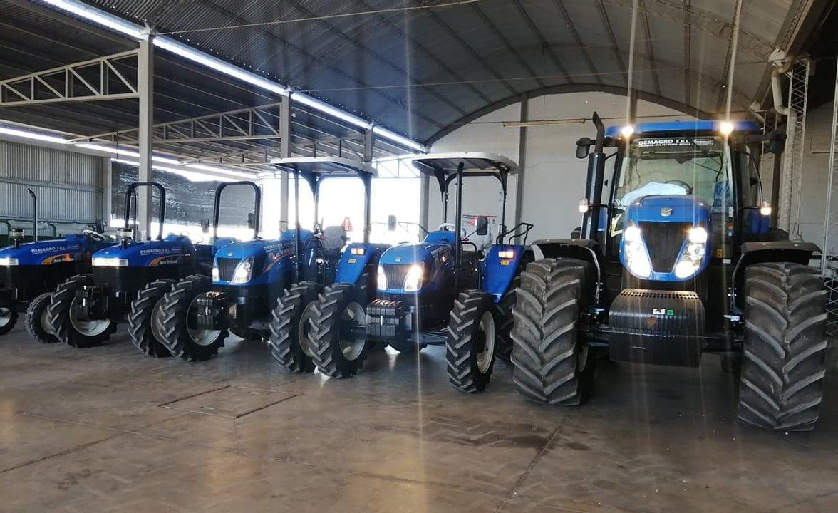 La firma robada es reconocida por la venta de material y maquinaria agrícola.