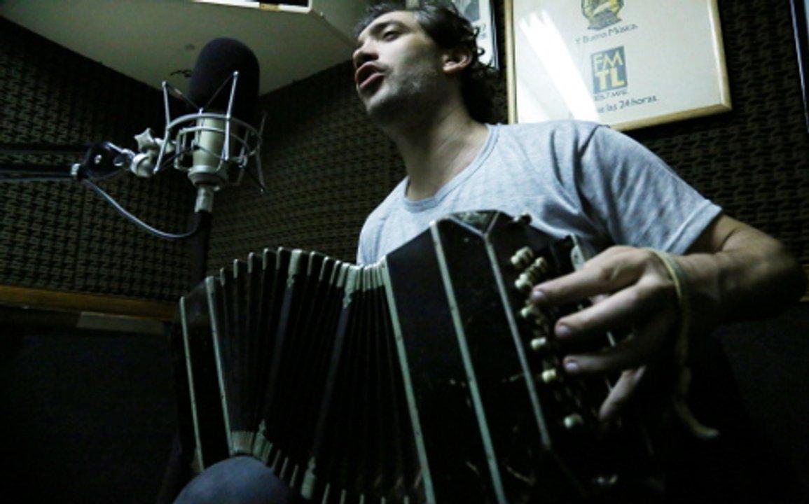 Leonel Capitano, uno de los integrantes de la Asamblea de Musicxs de Tango.