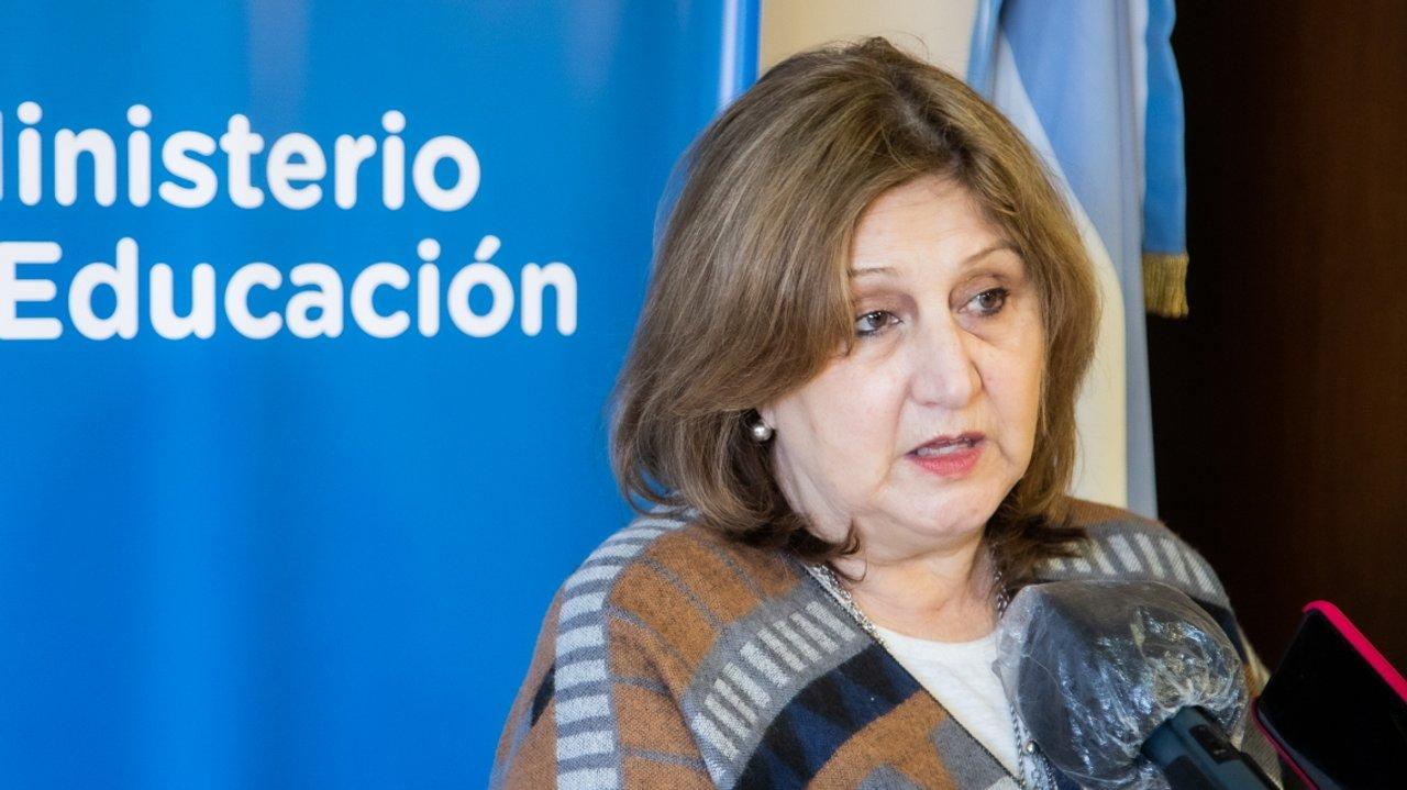 Adriana Cantero, ministra de Educación de Santa Fe