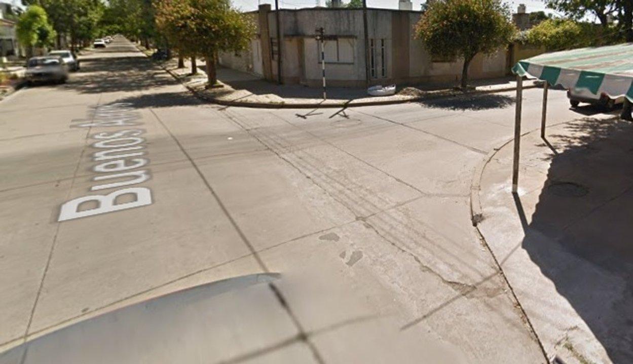 La esquina de Buenos y Lavalle, donde se concretó uno de los acosos narrado.