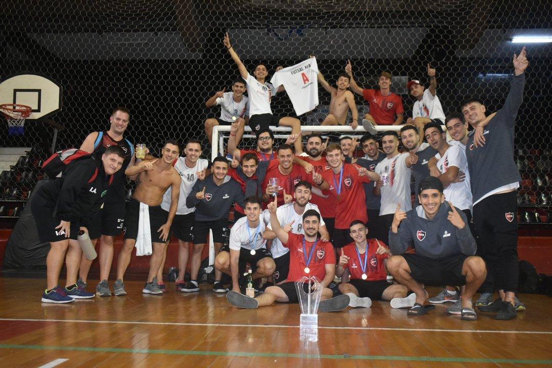 La Lepra campeona de Futsal.