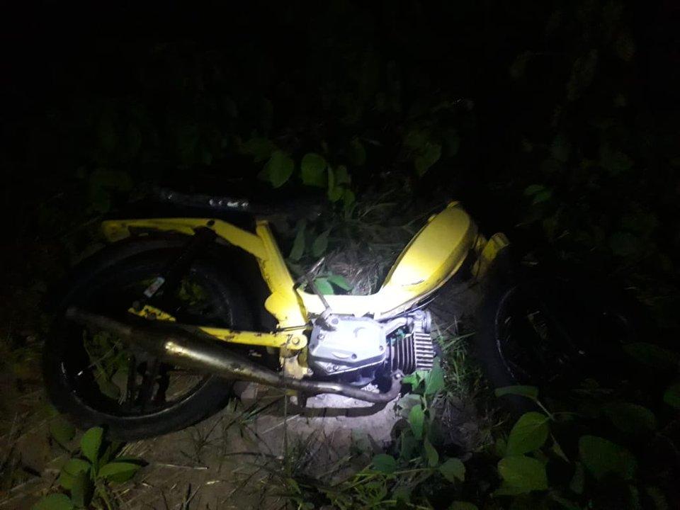Se quiso llevar una motocicleta del depósito judicial: lo atraparon