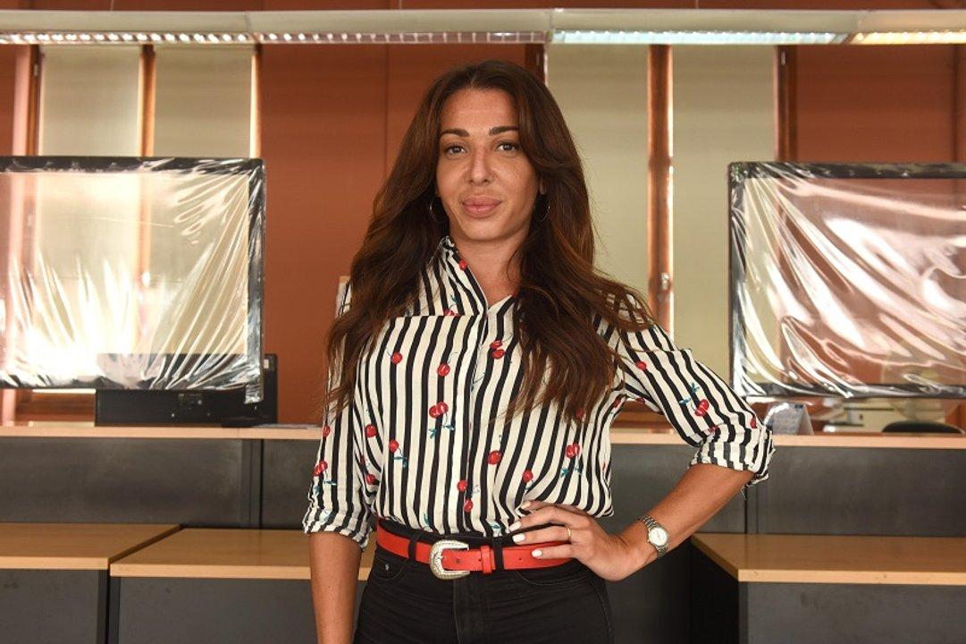 María Virginia Rivero trabaja en el CMD Centro. (Prensa MR)