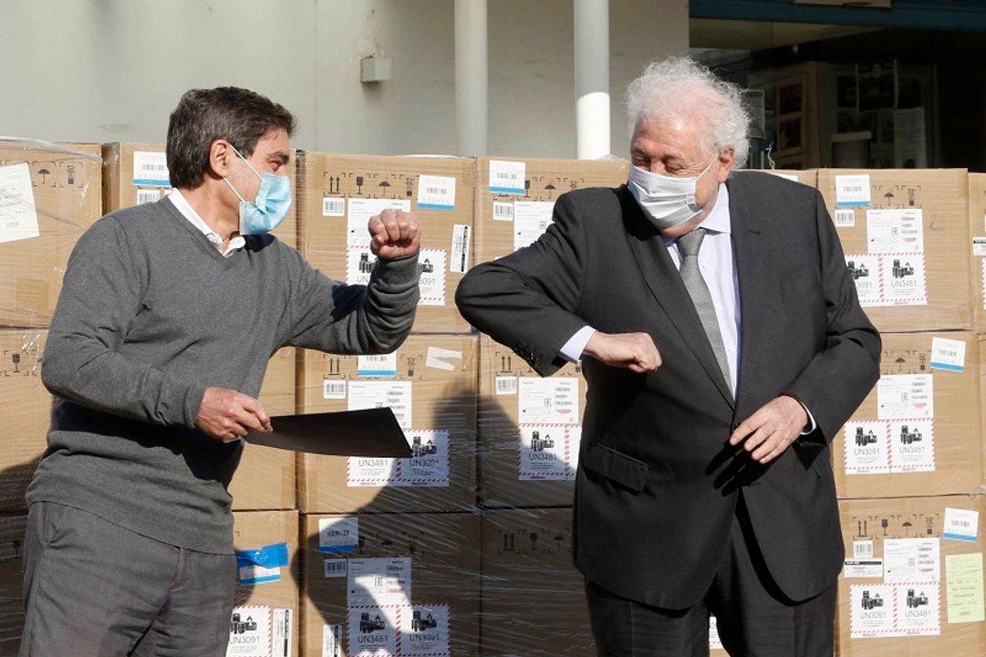 El Presidente se disgustó con González García por la gaffe que reveló Verbitsky, y lo hizo renunciar. (Télam)