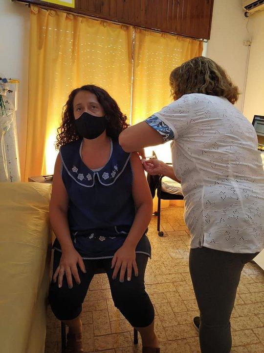 Vacunación en Sanford.