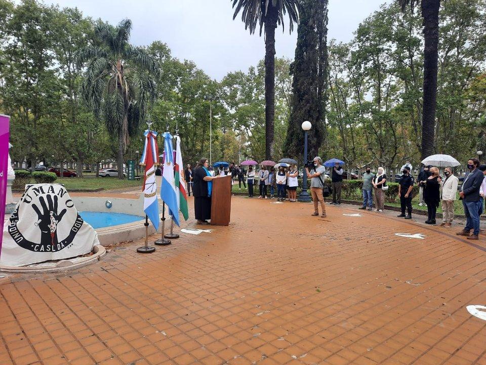 Emotivo acto por el Día Nacional de la Memoria, la Verdad y la Justicia
