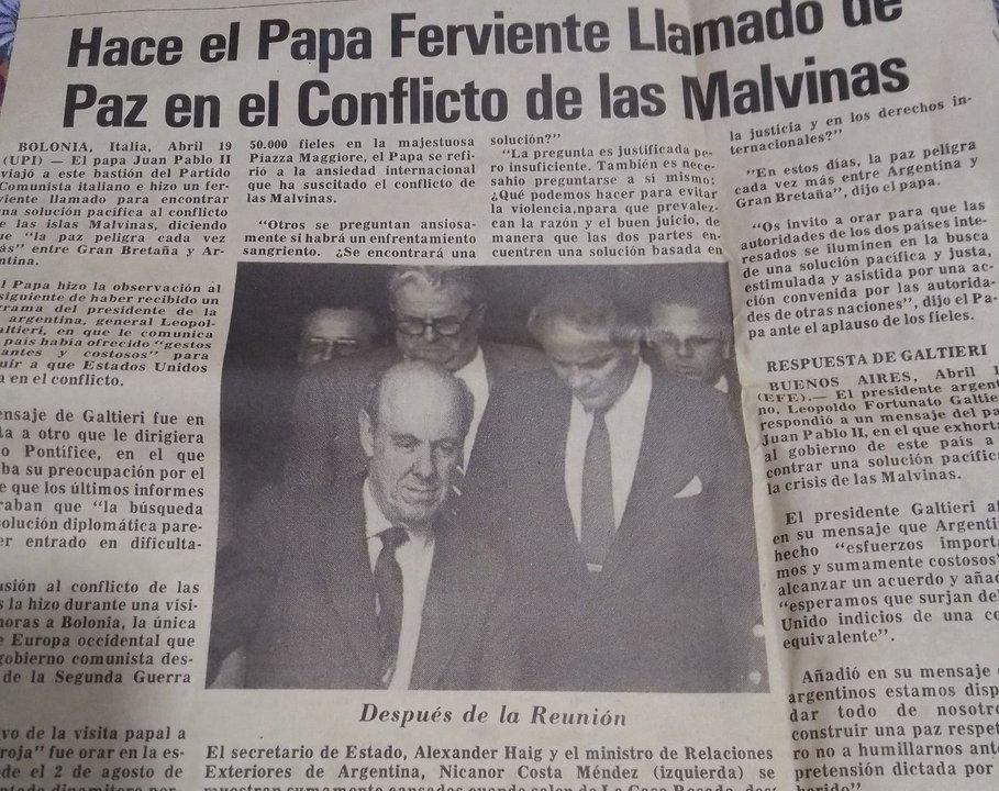 Diario de las América. 17 de abril de 1982